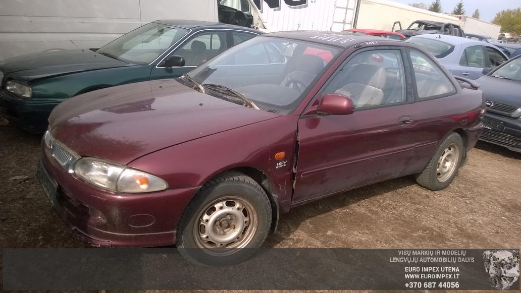 Naudotos automobilio dalys Proton PERSONA 1997 1.8 Mechaninė Sedanas 4/5 d. Raudona 2014-9-25