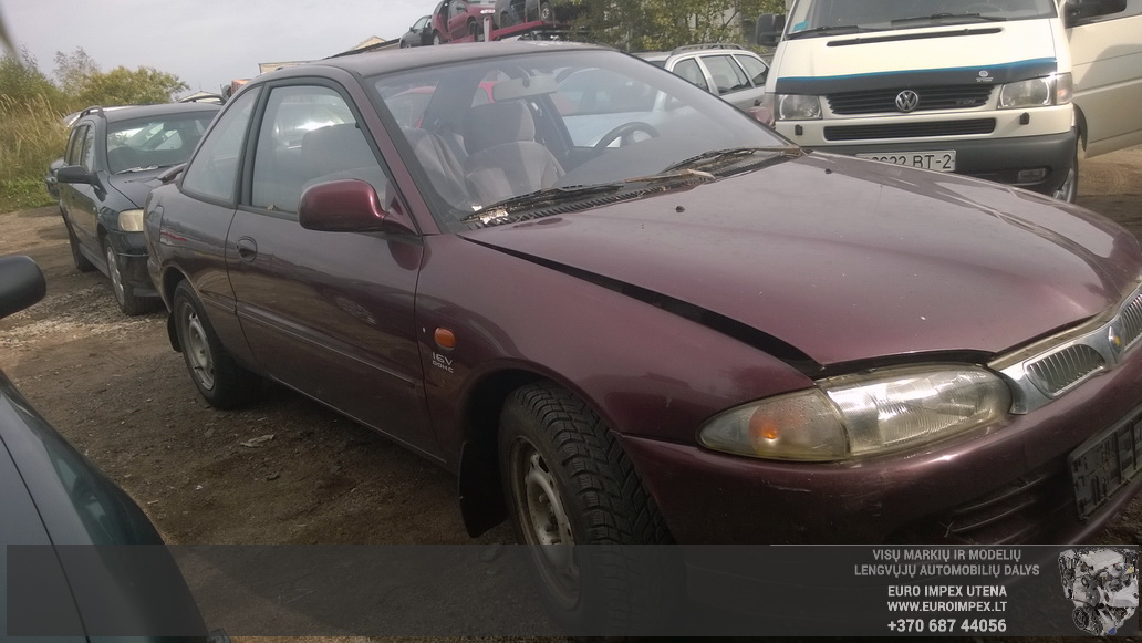Naudotos automobiliu dallys Foto 3 Proton PERSONA 1997 1.8 Mechaninė Sedanas 4/5 d. Raudona 2014-9-25 A1791