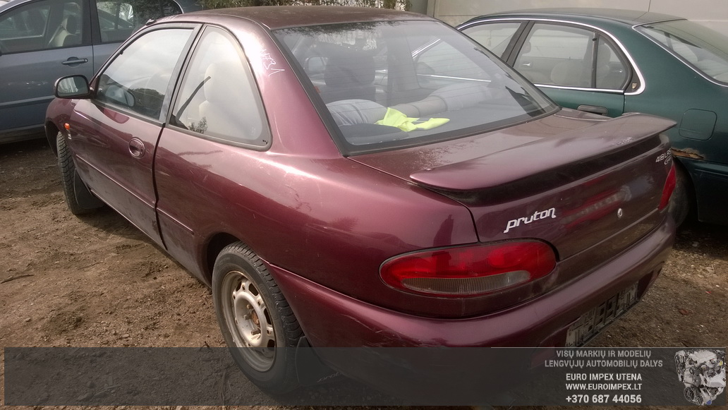 Naudotos automobiliu dallys Foto 7 Proton PERSONA 1997 1.8 Mechaninė Sedanas 4/5 d. Raudona 2014-9-25 A1791
