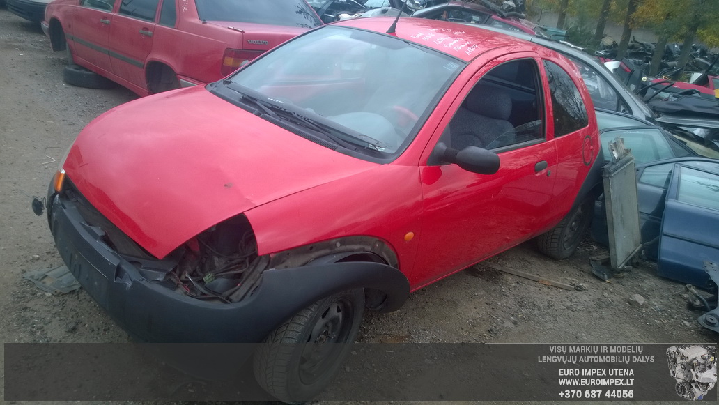 Naudotos automobilio dalys Ford KA 1998 1.3 Mechaninė Hačbekas 2/3 d. Raudona 2014-9-29