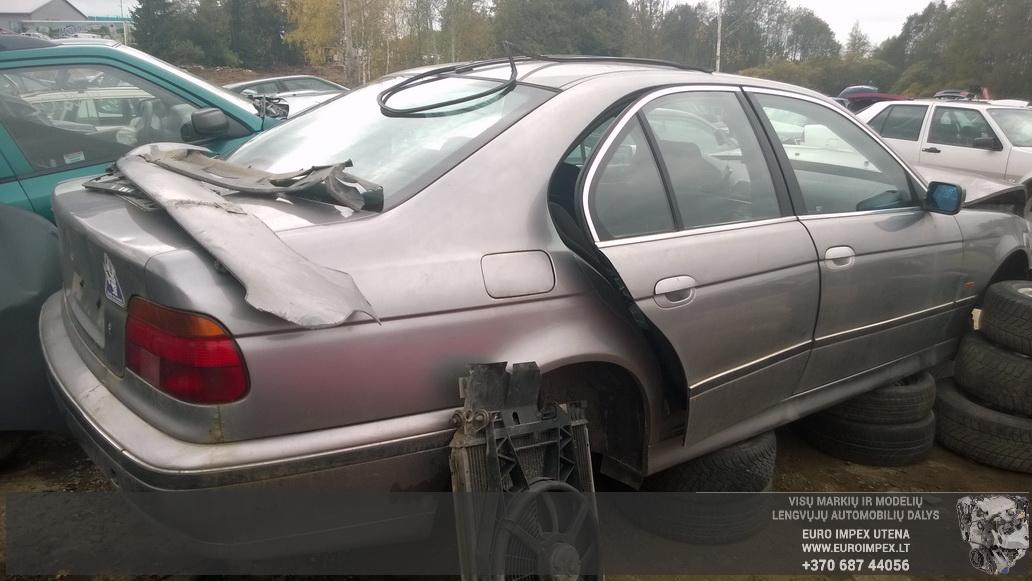 Naudotos automobilio dalys BMW 5-SERIES 1998 2.5 Mechaninė Sedanas 4/5 d. Pilka 2014-9-29