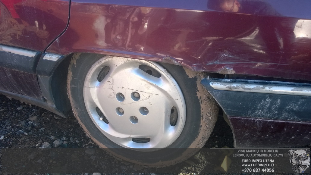 Naudotos automobilio dalys Citroen XM 1993 2.1 Mechaninė Hačbekas 4/5 d. Raudona 2014-9-30