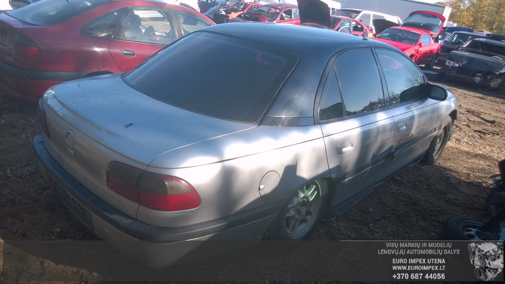 Naudotos automobilio dalys Opel OMEGA 1999 2.5 Mechaninė Sedanas 4/5 d. Pilka 2014-9-30