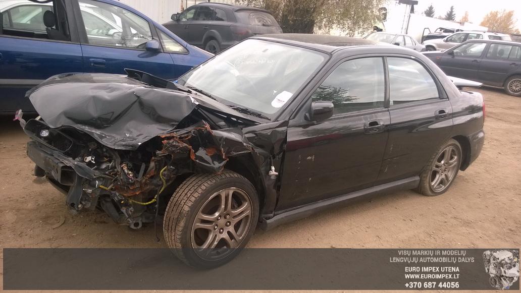 Naudotos automobilio dalys Subaru IMPREZA 2004 2.0 Mechaninė Sedanas 4/5 d. Juoda 2014-10-04