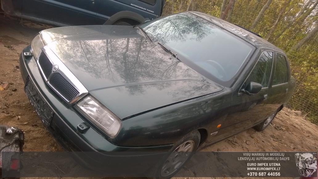 Naudotos automobilio dalys Lancia KAPPA 1996 2.4 Mechaninė Sedanas 4/5 d. Zalia 2014-10-08