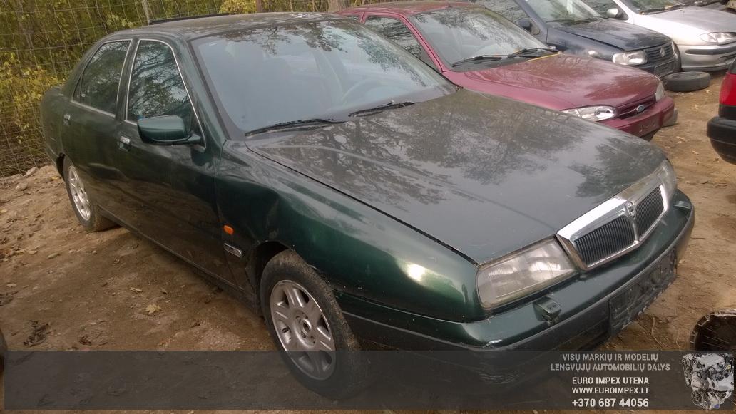 Naudotos automobiliu dallys Foto 3 Lancia KAPPA 1996 2.4 Mechaninė Sedanas 4/5 d. Zalia 2014-10-08 A1841