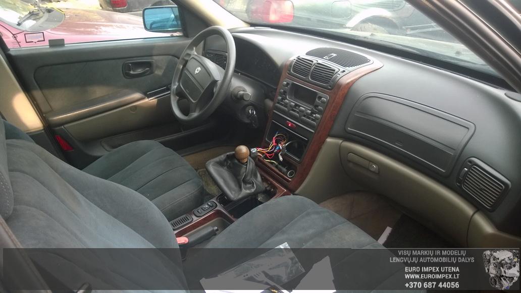 Naudotos automobiliu dallys Foto 5 Lancia KAPPA 1996 2.4 Mechaninė Sedanas 4/5 d. Zalia 2014-10-08 A1841