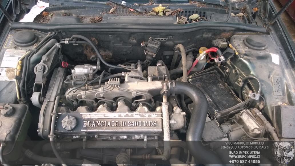 Naudotos automobiliu dallys Foto 8 Lancia KAPPA 1996 2.4 Mechaninė Sedanas 4/5 d. Zalia 2014-10-08 A1841