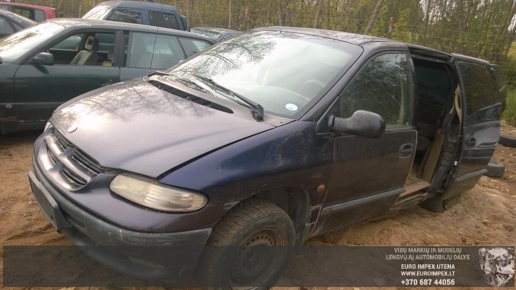 Naudotos automobiliu dallys Foto 1 Chrysler VOYAGER 1996 2.5 Mechaninė Vienatūris 4/5 d. Violetine 2014-10-08 A1844