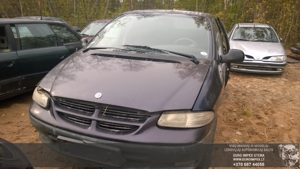 Naudotos automobiliu dallys Foto 2 Chrysler VOYAGER 1996 2.5 Mechaninė Vienatūris 4/5 d. Violetine 2014-10-08 A1844