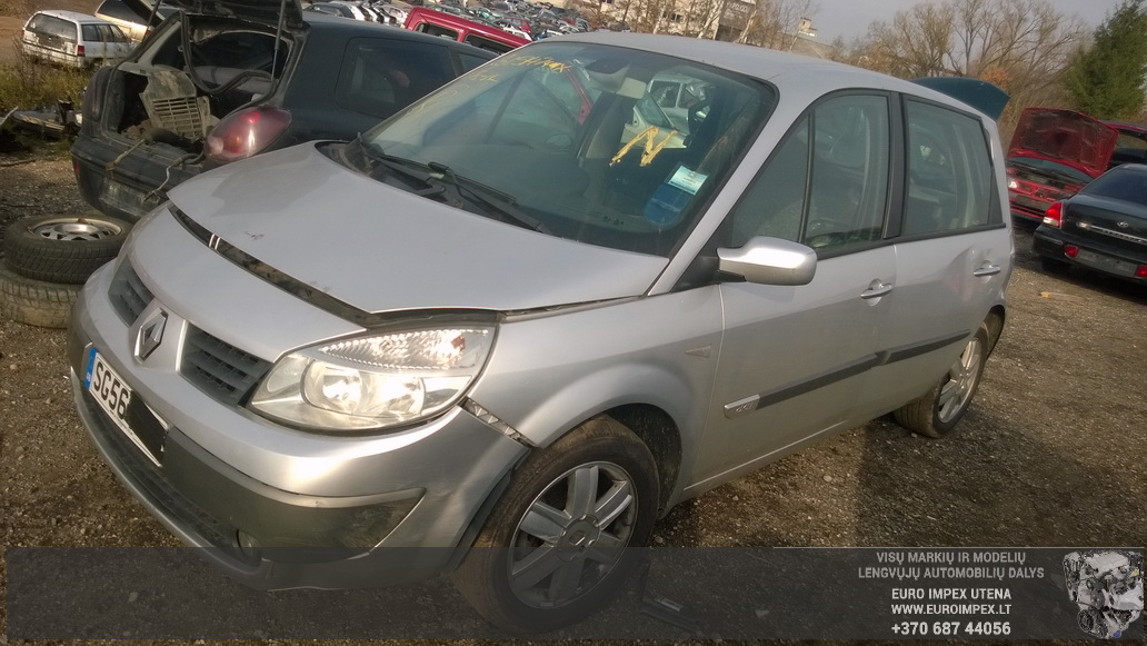 Renault SCENIC 2006 1.5 Mechaninė