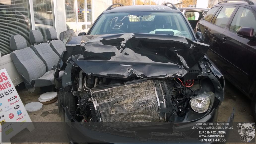 Naudotos automobiliu dallys Foto 2 Volkswagen GOLF 2010 1.6 Mechaninė Universalas 4/5 d. Juoda 2014-10-14 A1859