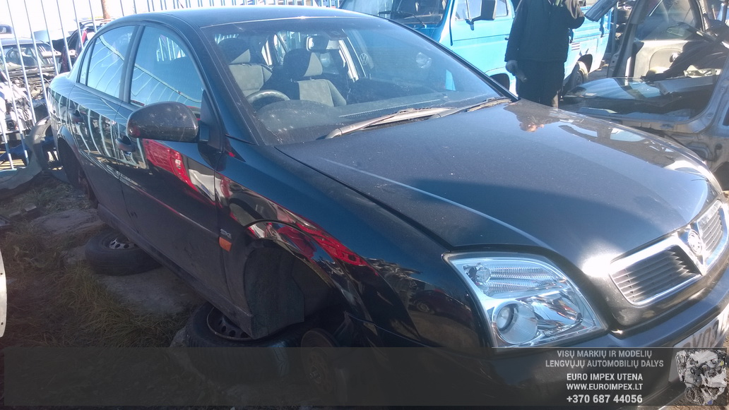 Naudotos automobiliu dallys Foto 3 Opel VECTRA 2003 1.8 Mechaninė Sedanas 4/5 d. Juoda 2014-10-23 A1875