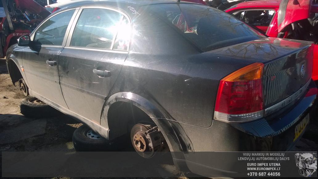 Naudotos automobiliu dallys Foto 7 Opel VECTRA 2003 1.8 Mechaninė Sedanas 4/5 d. Juoda 2014-10-23 A1875