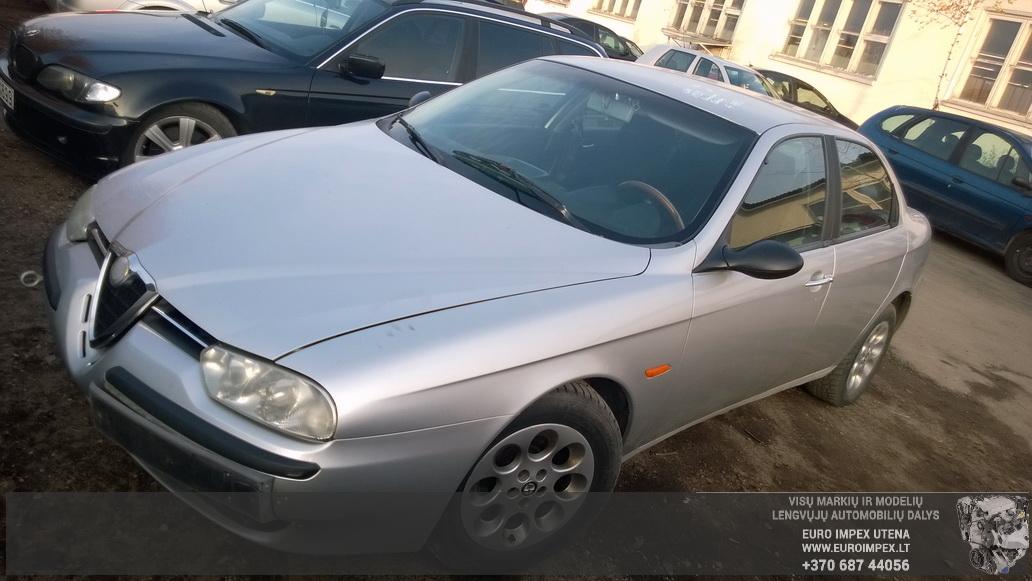 Naudotos automobilio dalys Alfa-Romeo 156 1998 1.8 Mechaninė Sedanas 4/5 d. Pilka 2014-10-27