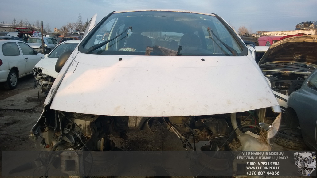 Naudotos automobiliu dallys Foto 2 Volkswagen SHARAN 1999 1.9 Mechaninė Vienatūris 4/5 d. Balta 2014-10-27 A1884