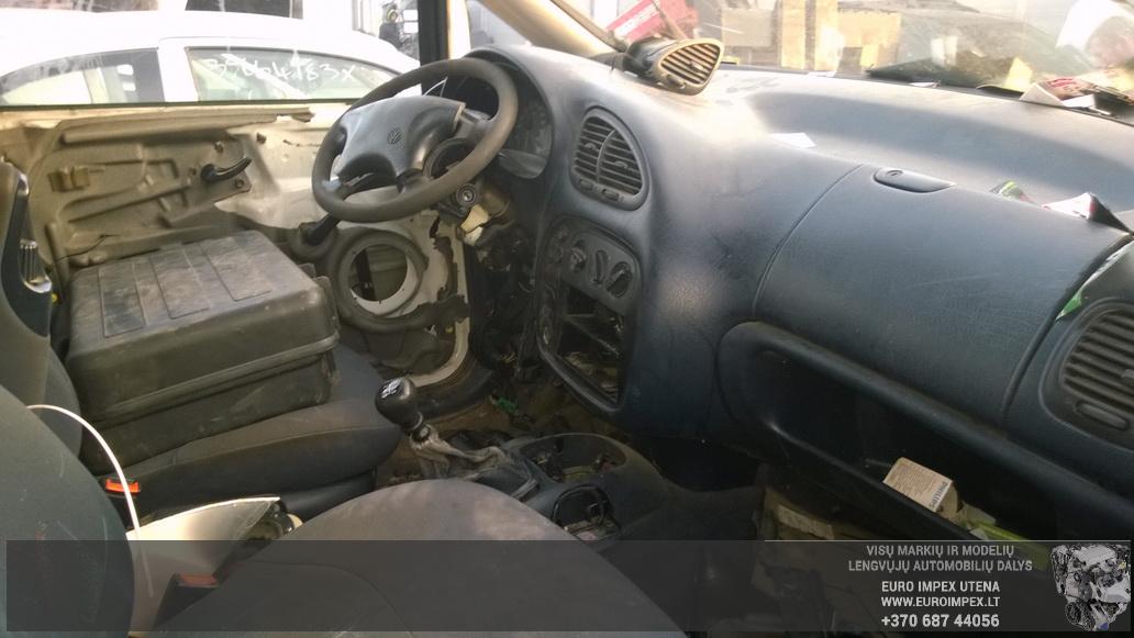 Naudotos automobiliu dallys Foto 4 Volkswagen SHARAN 1999 1.9 Mechaninė Vienatūris 4/5 d. Balta 2014-10-27 A1884