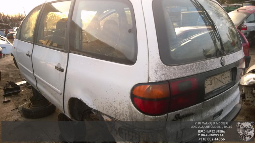 Naudotos automobiliu dallys Foto 6 Volkswagen SHARAN 1999 1.9 Mechaninė Vienatūris 4/5 d. Balta 2014-10-27 A1884