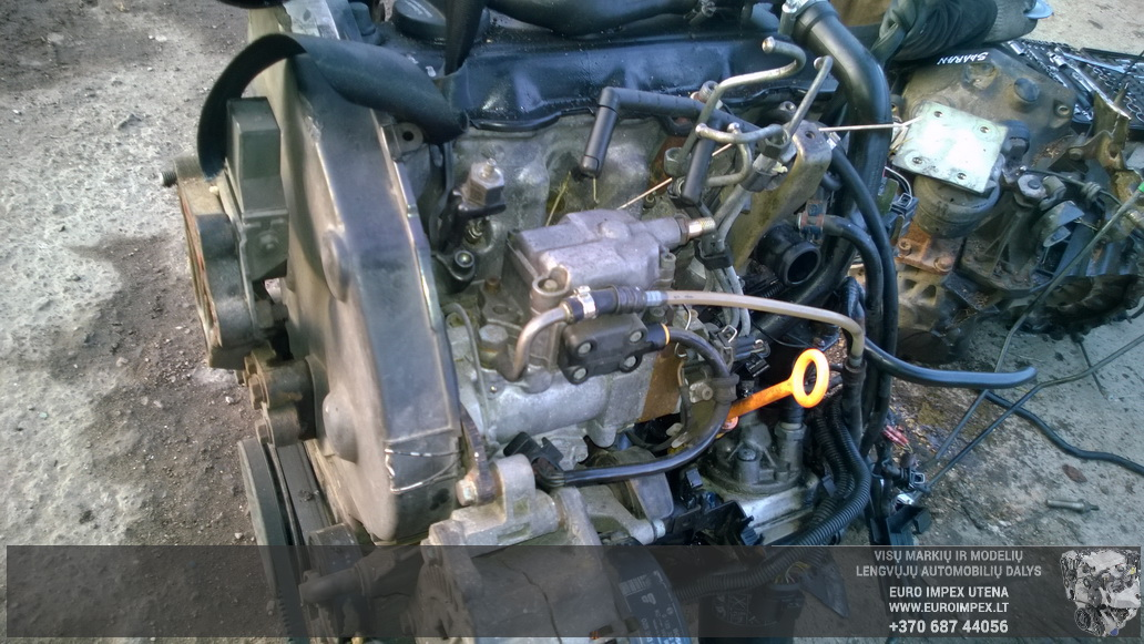 Naudotos automobiliu dallys Foto 8 Volkswagen SHARAN 1999 1.9 Mechaninė Vienatūris 4/5 d. Balta 2014-10-27 A1884