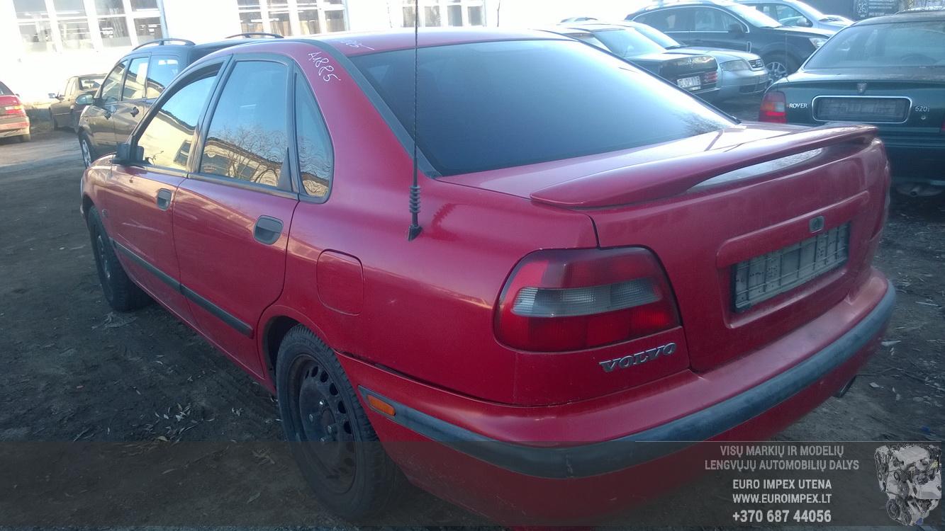 Naudotos automobilio dalys Volvo S40 1998 1.9 Mechaninė Sedanas 4/5 d. Raudona 2014-10-28