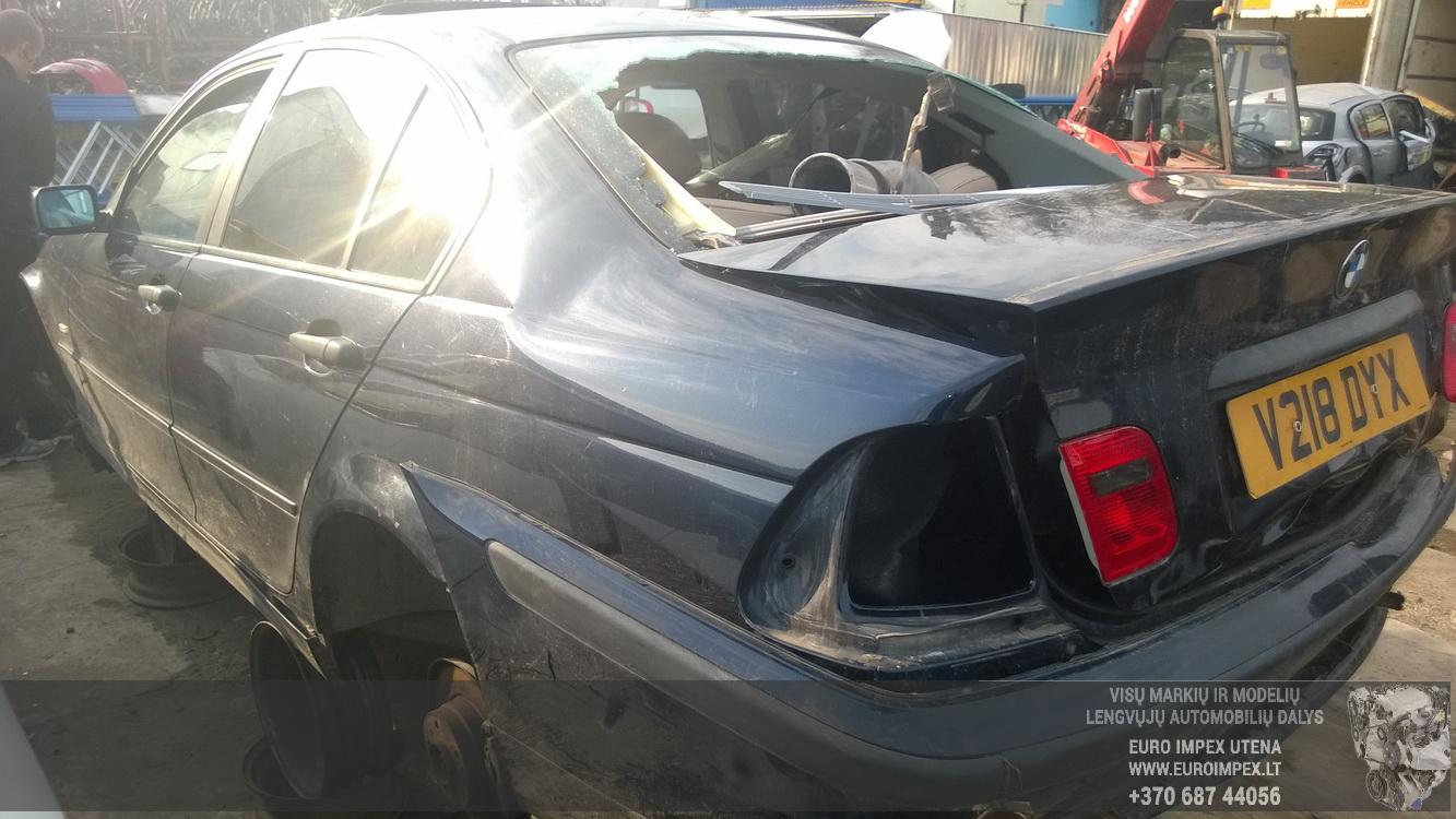 Naudotos automobilio dalys BMW 3-SERIES 1999 1.9 Mechaninė Sedanas 4/5 d. Melyna 2014-10-30