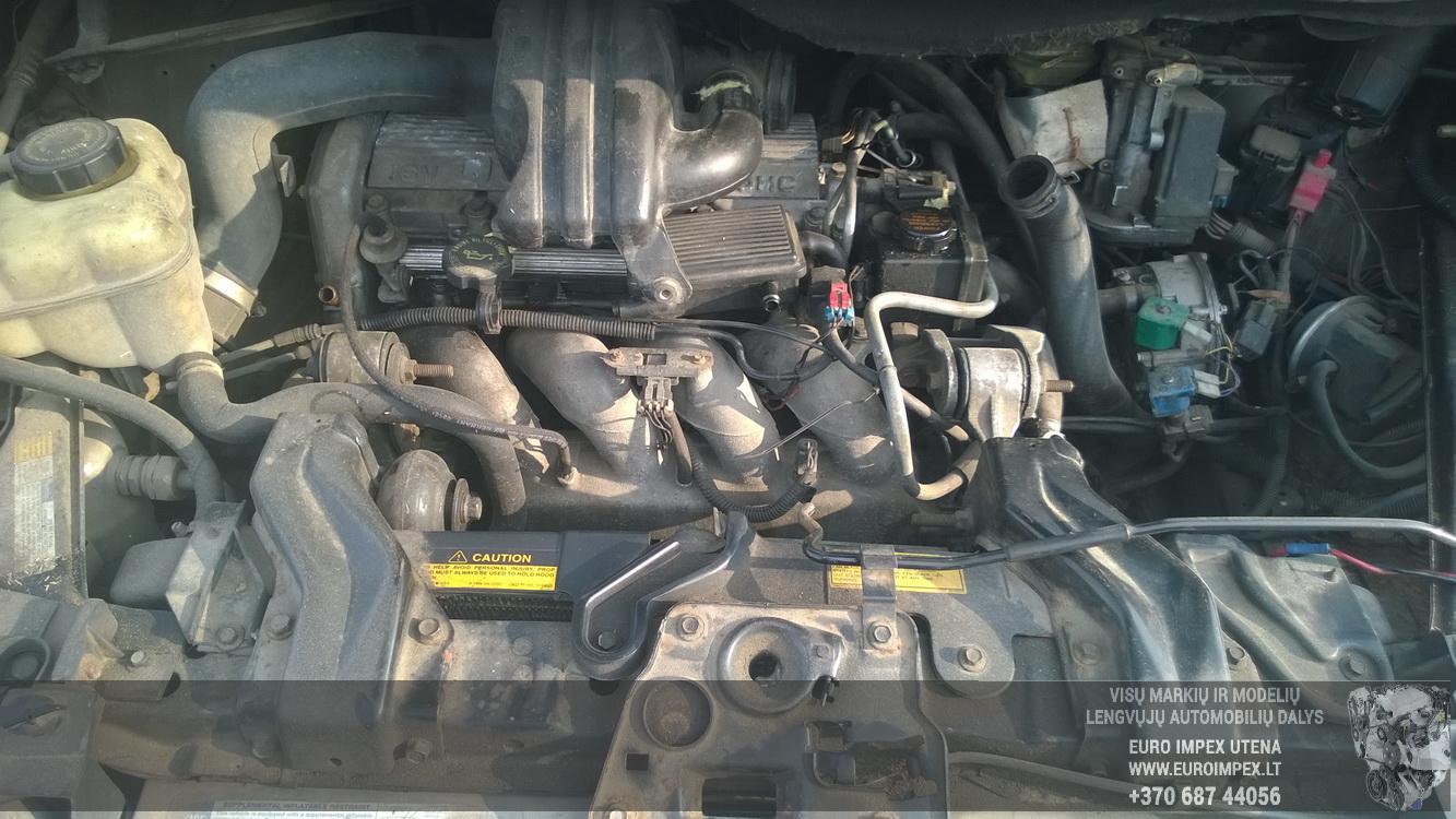 Naudotos automobiliu dallys Foto 8 Pontiac TRANS SPORT 1995 2.3 Mechaninė Vienatūris 4/5 d. Pilka 2014-10-30 A1889