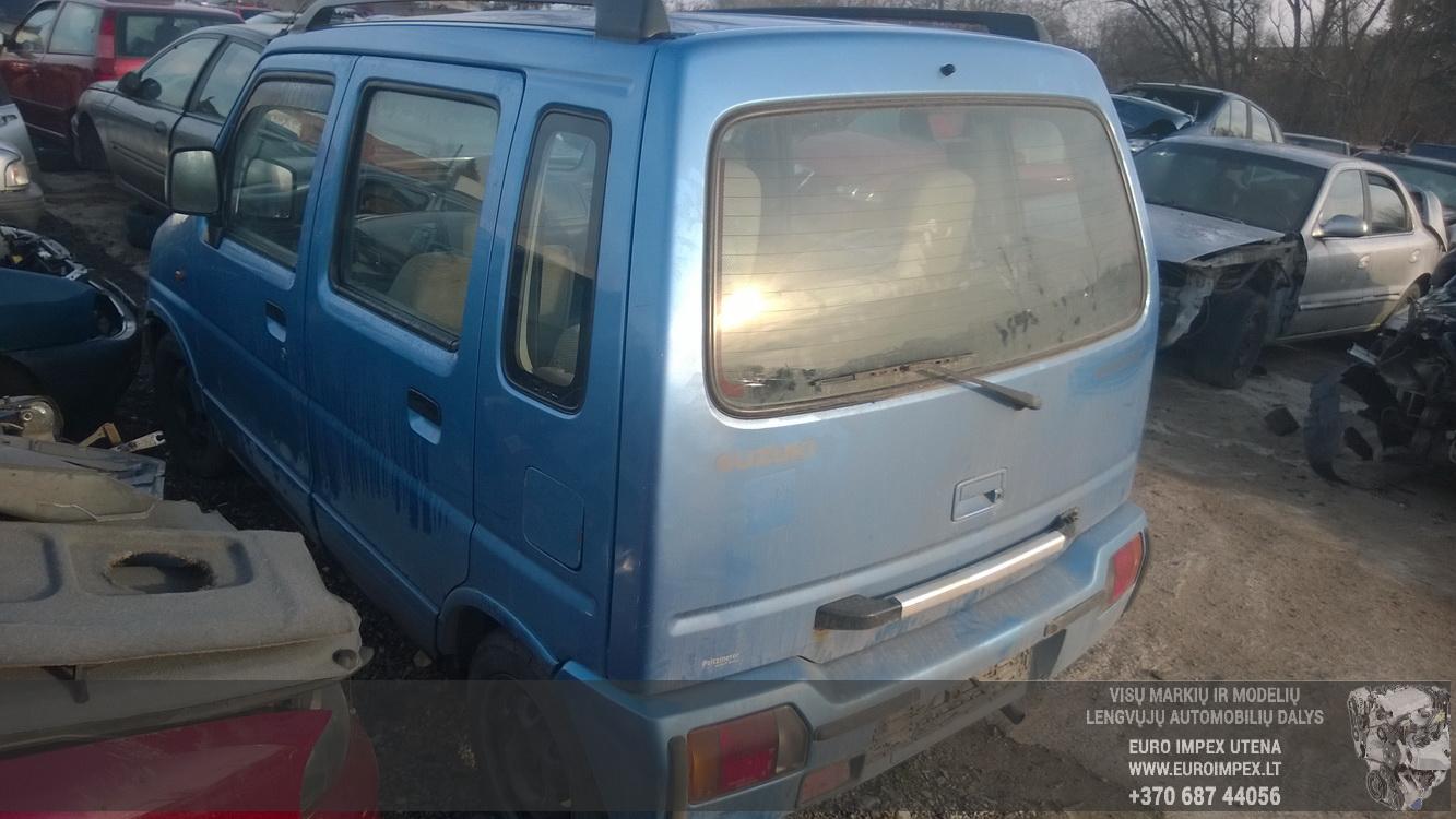 Naudotos automobilio dalys Suzuki WAGON R  1998 1.2 Automatinė Vienatūris 4/5 d. Melyna 2014-11-06