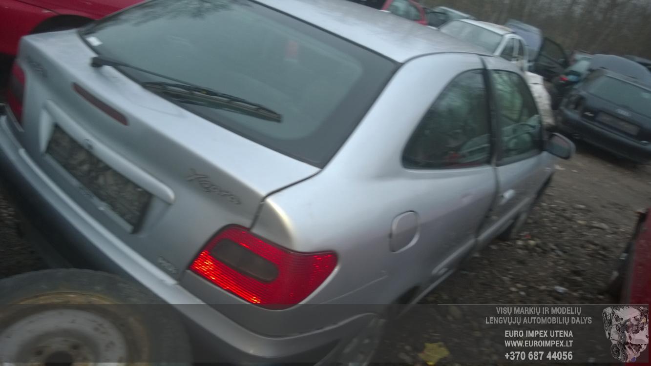 Naudotos automobilio dalys Citroen XSARA 1999 2.0 Mechaninė Hačbekas 4/5 d. Pilka 2014-11-10