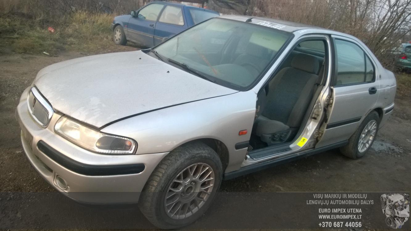 Naudotos automobilio dalys Rover 400-SERIES 1998 1.4 Mechaninė Sedanas 4/5 d. Pilka 2014-11-11