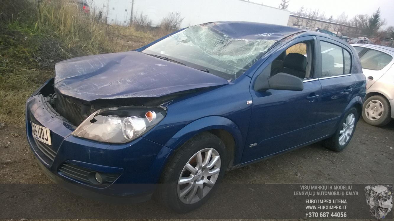 Naudotos automobiliu dallys Foto 1 Opel ASTRA 2005 1.6 Mechaninė Hačbekas 4/5 d. Melyna 2014-11-11 A1914