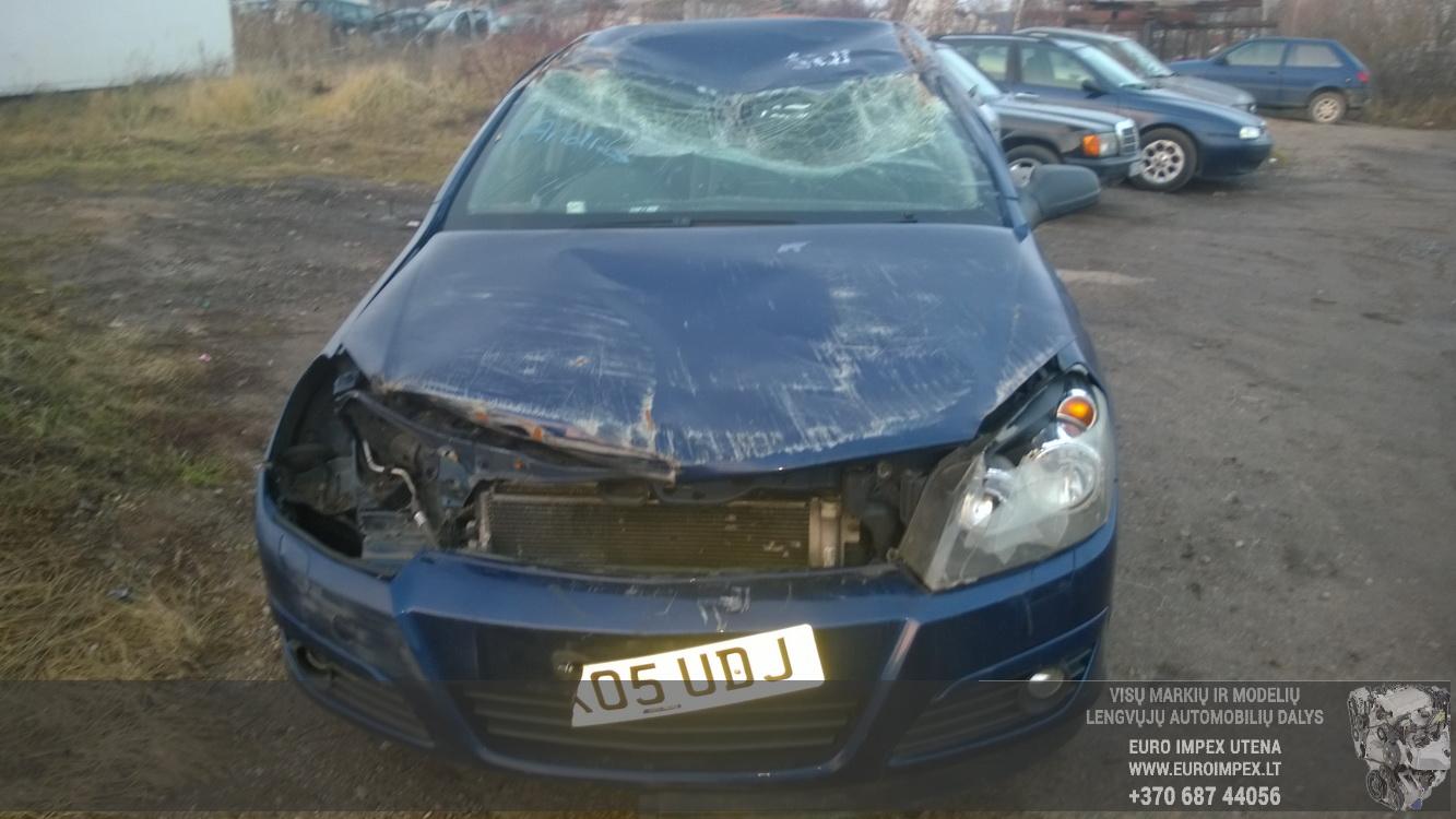 Naudotos automobiliu dallys Foto 2 Opel ASTRA 2005 1.6 Mechaninė Hačbekas 4/5 d. Melyna 2014-11-11 A1914