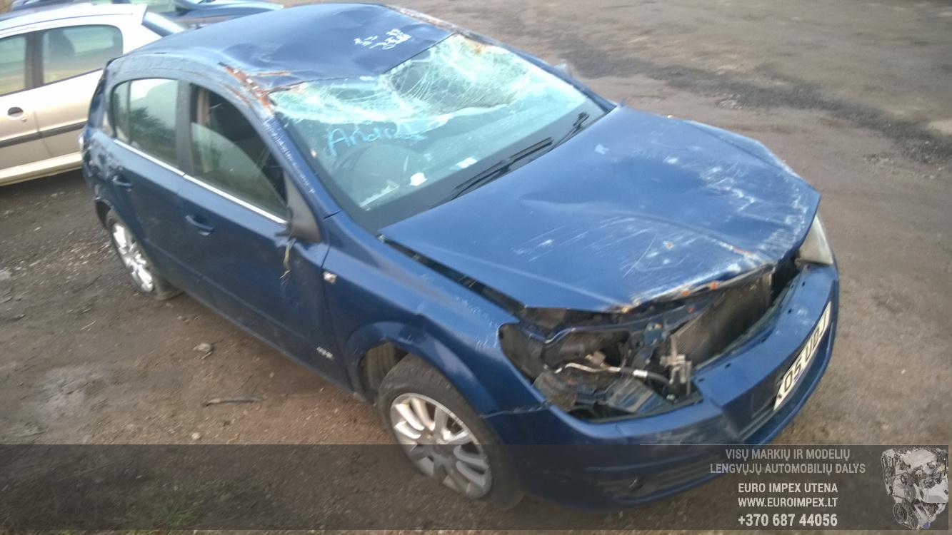 Naudotos automobiliu dallys Foto 3 Opel ASTRA 2005 1.6 Mechaninė Hačbekas 4/5 d. Melyna 2014-11-11 A1914