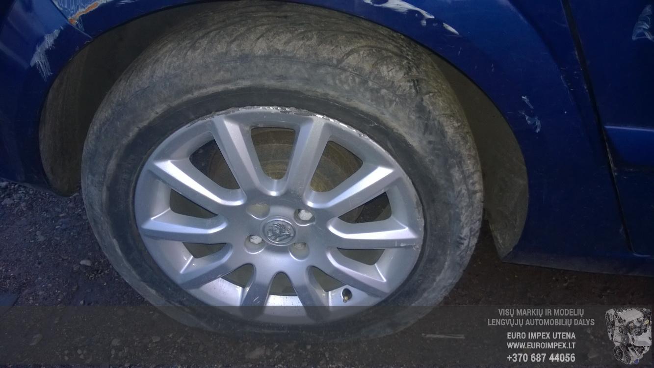 Naudotos automobiliu dallys Foto 4 Opel ASTRA 2005 1.6 Mechaninė Hačbekas 4/5 d. Melyna 2014-11-11 A1914