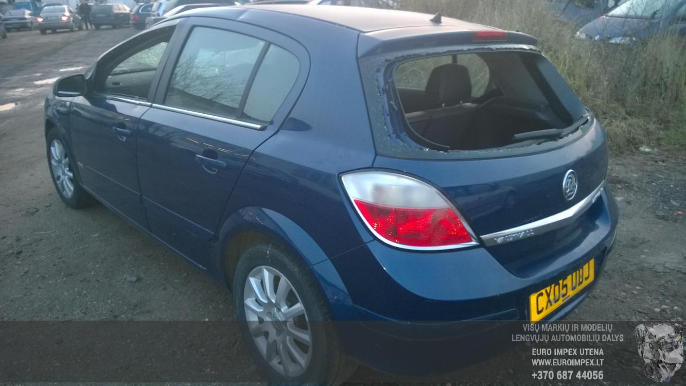 Naudotos automobiliu dallys Foto 6 Opel ASTRA 2005 1.6 Mechaninė Hačbekas 4/5 d. Melyna 2014-11-11 A1914
