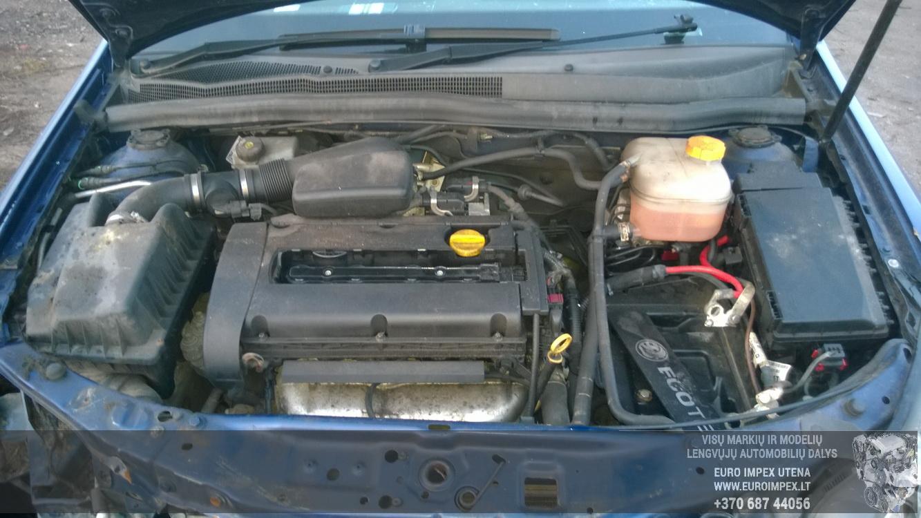 Naudotos automobiliu dallys Foto 8 Opel ASTRA 2005 1.6 Mechaninė Hačbekas 4/5 d. Melyna 2014-11-11 A1914
