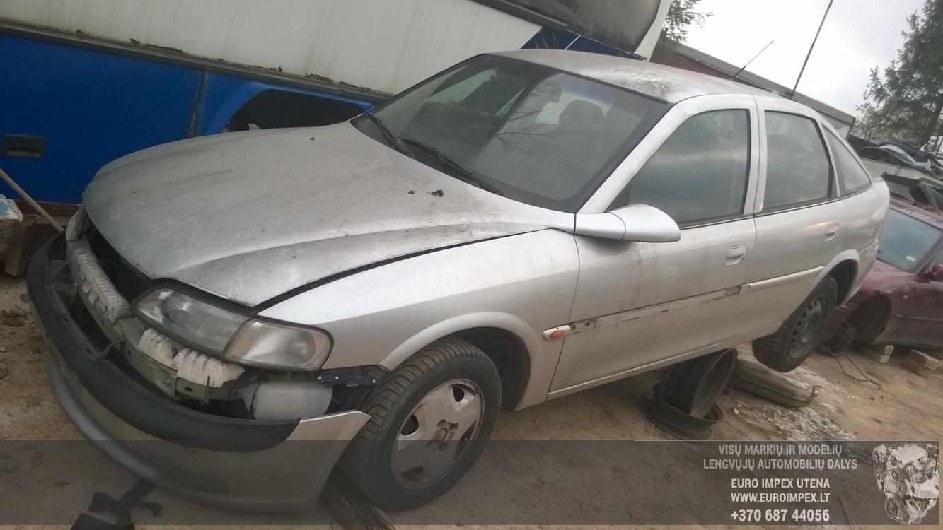 Naudotos automobiliu dallys Foto 1 Opel VECTRA 1996 1.8 Automatinė Hačbekas 4/5 d. Pilka 2014-11-17 A1926