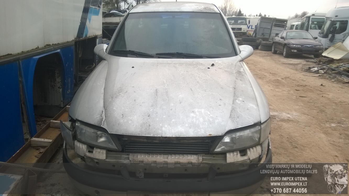 Naudotos automobiliu dallys Foto 2 Opel VECTRA 1996 1.8 Automatinė Hačbekas 4/5 d. Pilka 2014-11-17 A1926