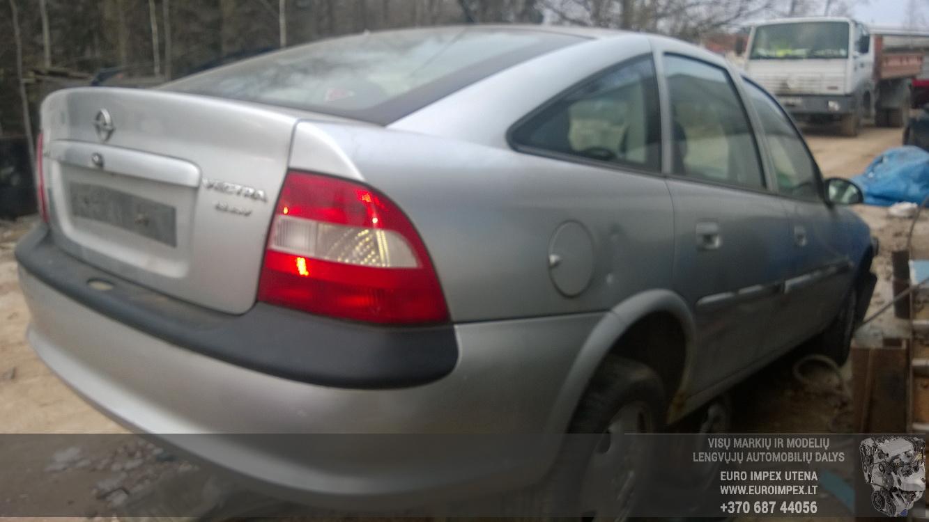 Naudotos automobiliu dallys Foto 6 Opel VECTRA 1996 1.8 Automatinė Hačbekas 4/5 d. Pilka 2014-11-17 A1926