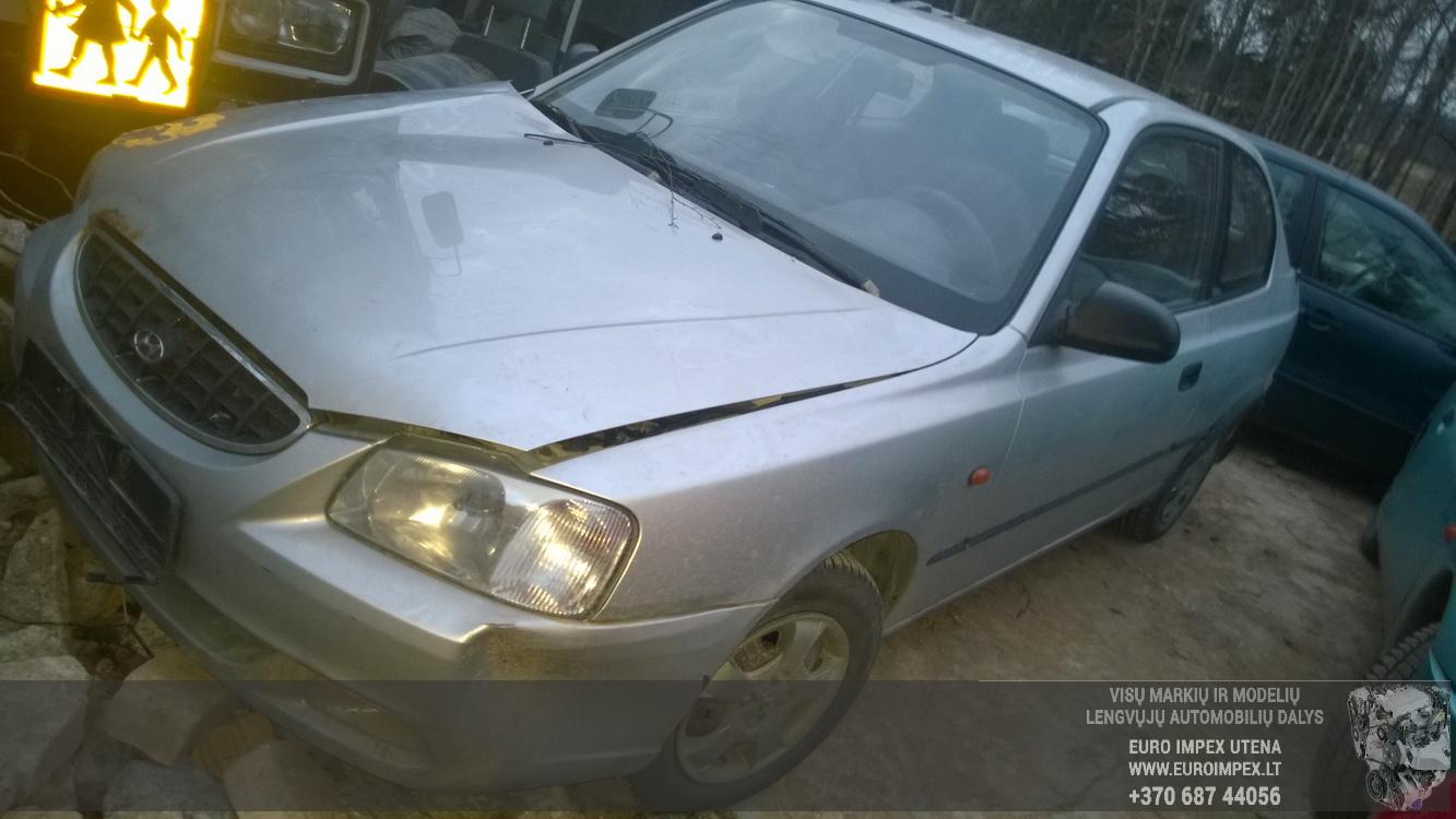 Hyundai ACCENT 2002 1.3 Mechaninė