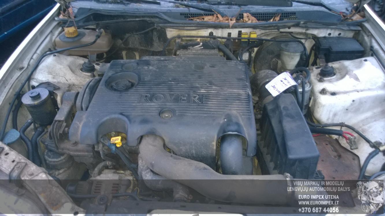Naudotos automobilio dalys Rover 400-SERIES 1996 2.0 Mechaninė Sedanas 4/5 d. Balta 2014-12-09