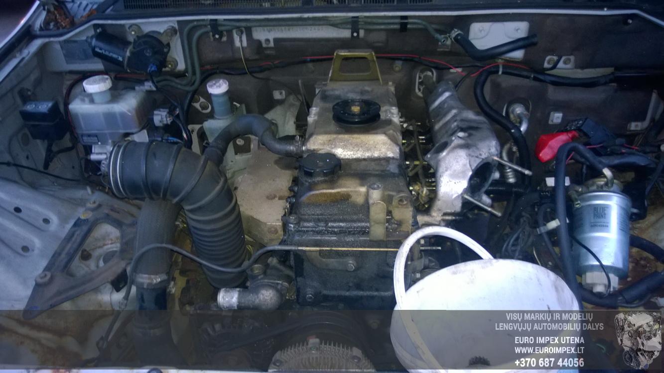 Naudotos automobiliu dallys Foto 8 Mitsubishi PAJERO 2001 3.2 Mechaninė Visureigis 2/3 d. Pilka 2014-12-10 A1936