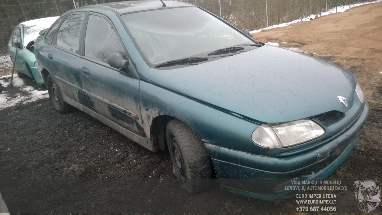 Naudotos automobilio dalys Renault LAGUNA 1996 1.8 Mechaninė Hačbekas 4/5 d. Zalia 2014-12-09