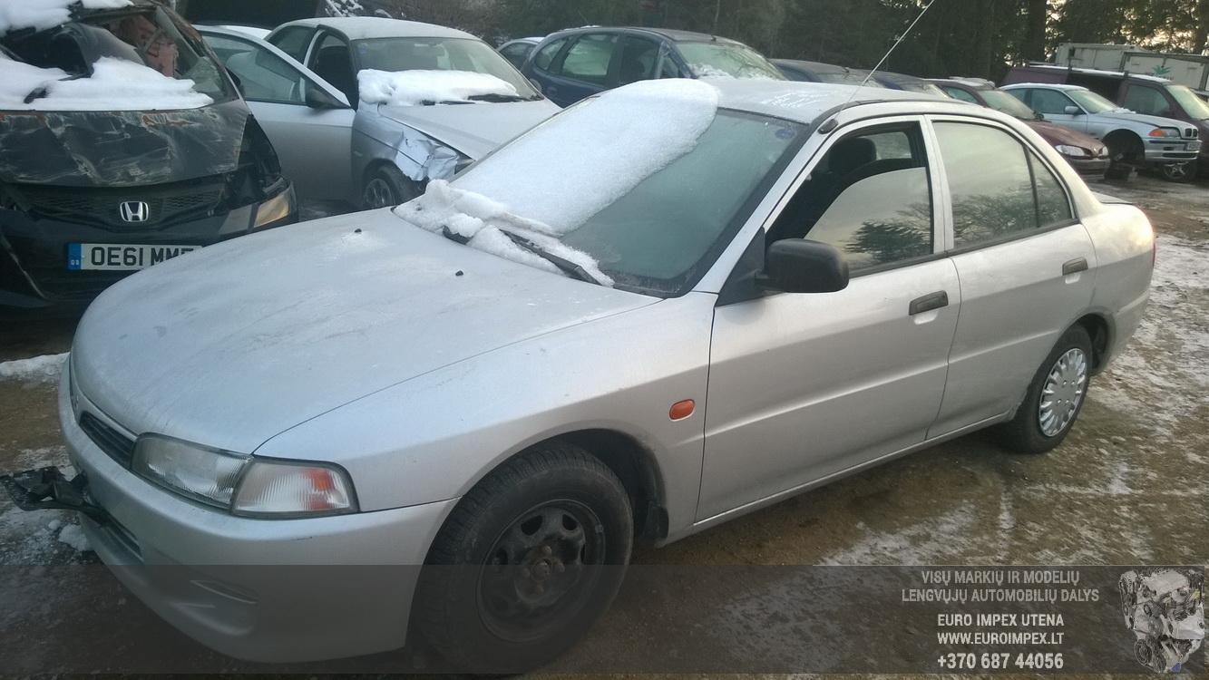 Naudotos automobilio dalys Mitsubishi LANCER 1997 1.3 Mechaninė Sedanas 4/5 d. Pilka 2014-12-11