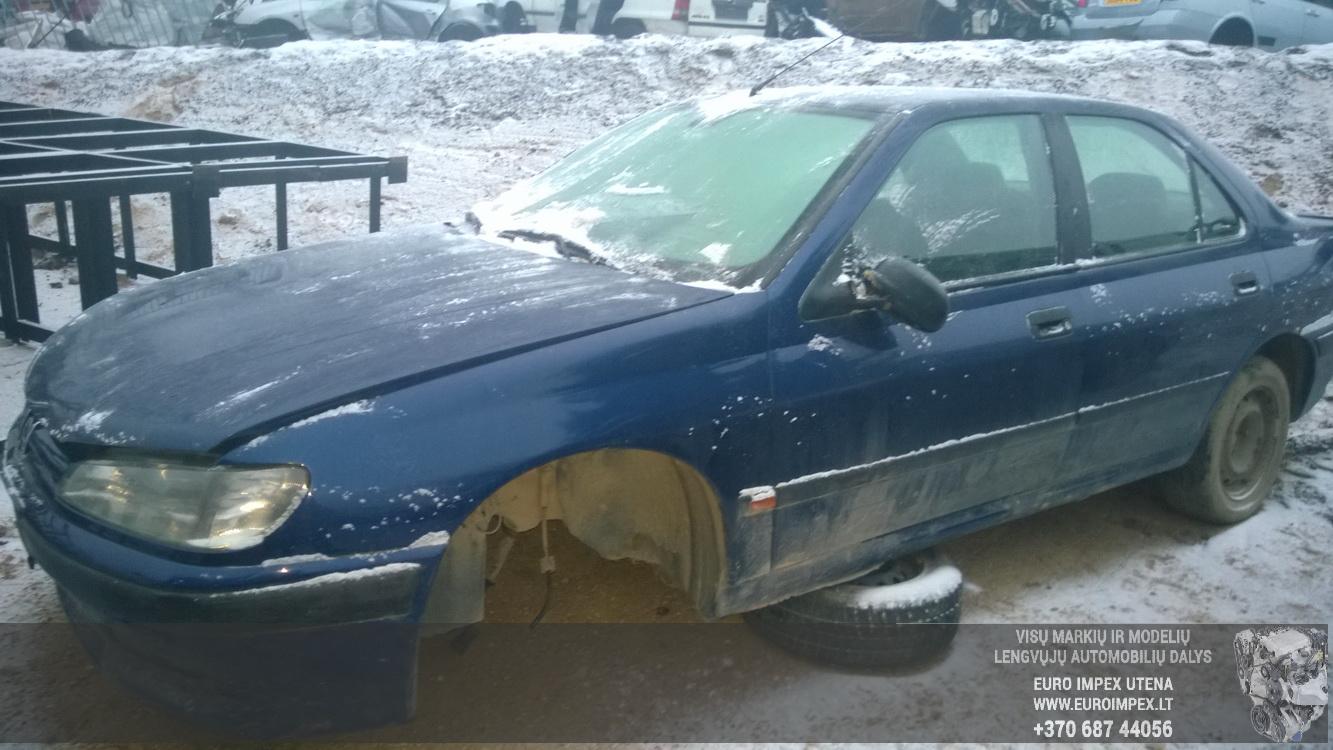 Naudotos automobilio dalys Peugeot 406 1998 1.8 Mechaninė Sedanas 4/5 d. Melyna 2014-12-11
