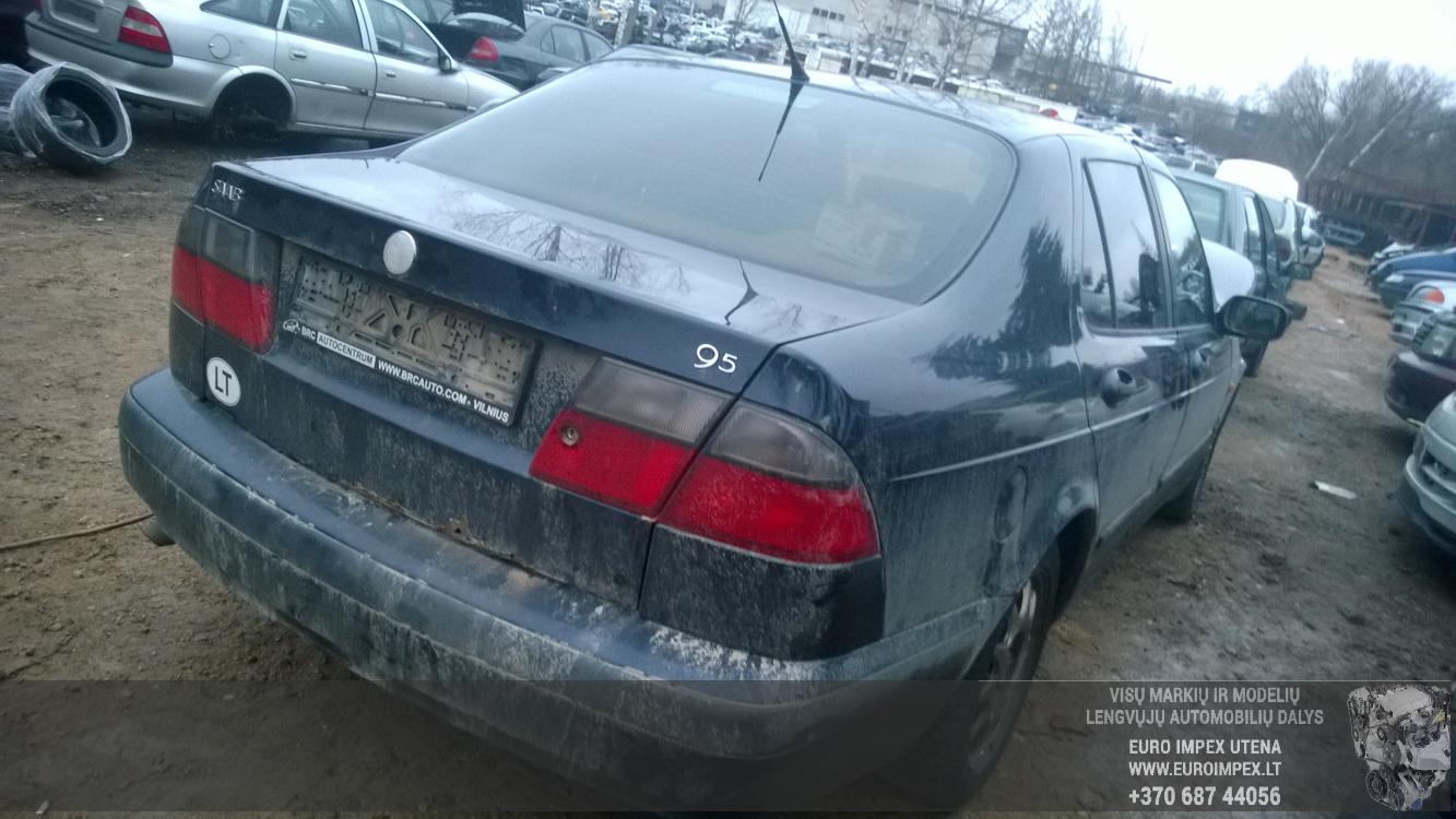 Naudotos automobilio dalys SAAB 9-5 1998 2.0 Mechaninė Sedanas 4/5 d. Melyna 2014-12-15