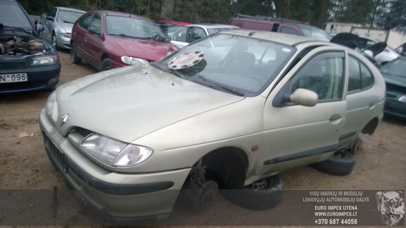 Renault MEGANE 1998 1.6 Automatinė