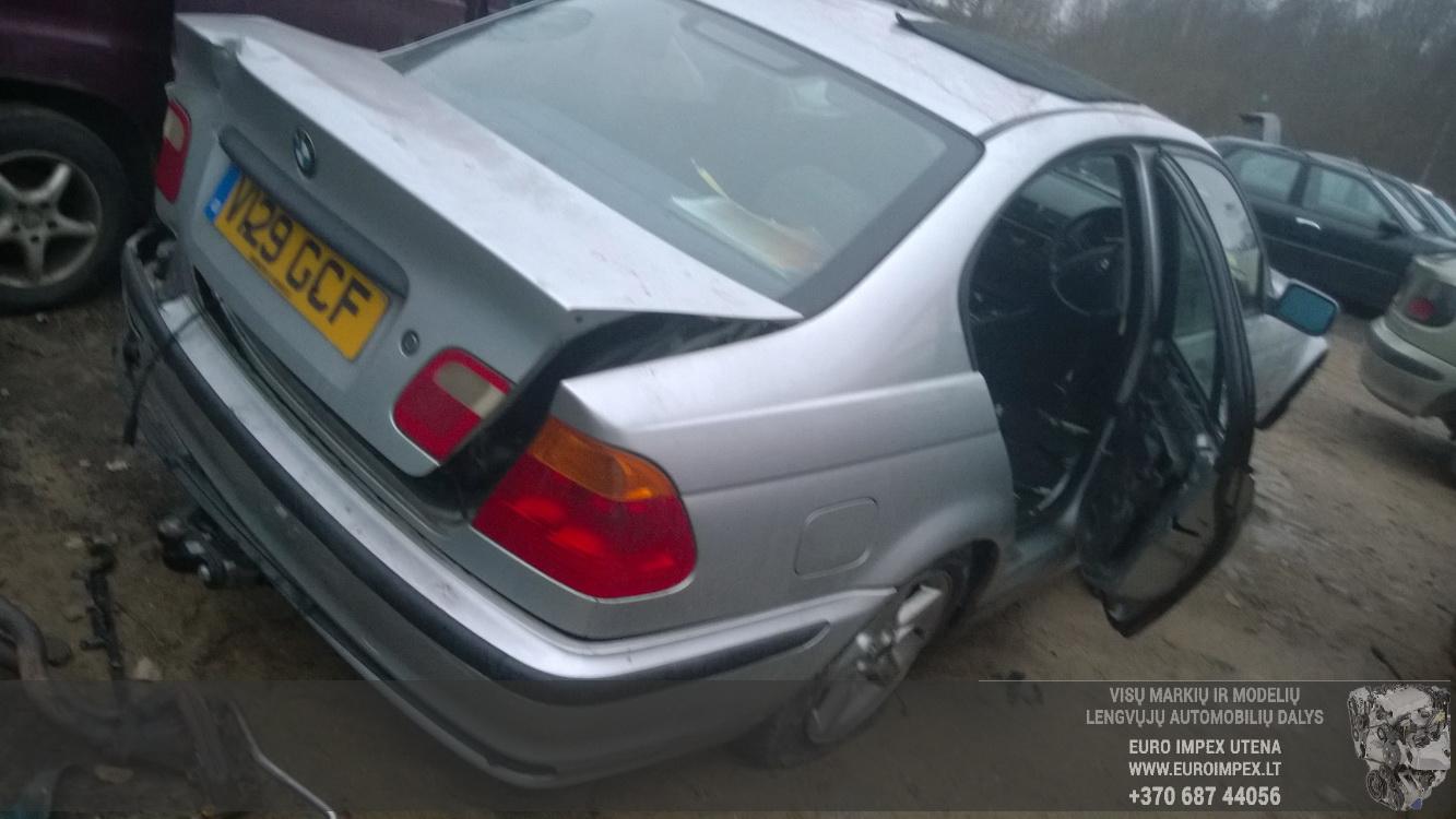 Naudotos automobilio dalys BMW 3-SERIES 1999 1.9 Mechaninė Sedanas 4/5 d. Pilka 2014-12-15