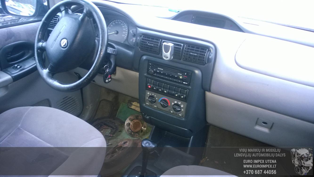 Seat belt - front left side