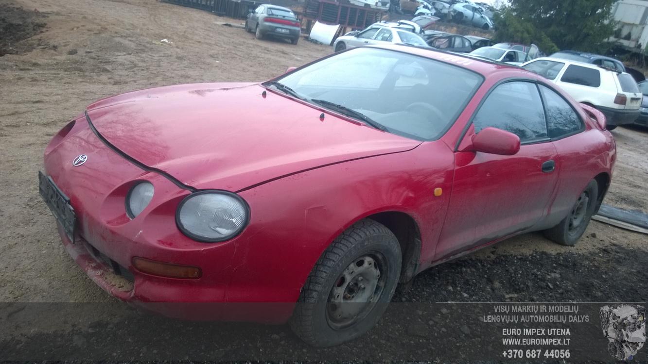 Naudotos automobilio dalys Toyota CELICA 1995 1.8 Mechaninė Kupė 2/3 d. Raudona 2014-12-29