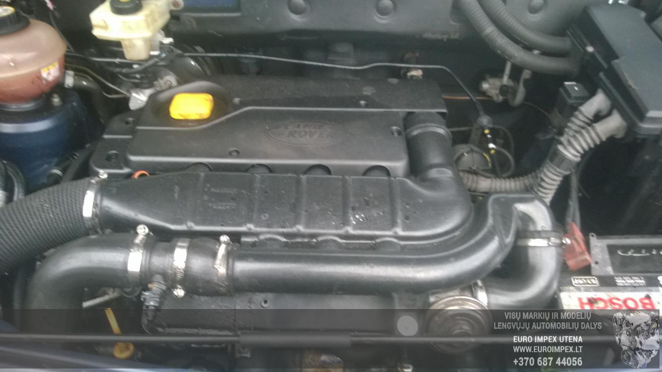 Naudotos automobiliu dallys Foto 8 Land Rover FREELANDER 2006 2.0 Mechaninė Visureigis 4/5 d. Melyna 2014-12-30 A1976